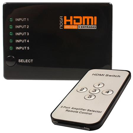 HDMI Switch con 5 entradas